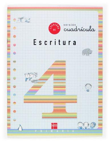 Cuaderno 4 de escritura, Cuadrícula. 2 Primaria - 9788434882232