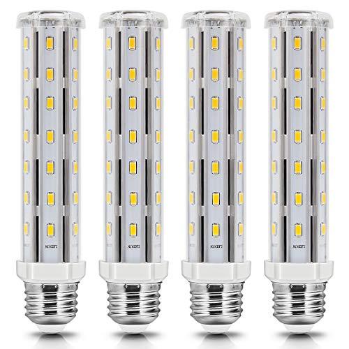 E27 LED Lampe, 15W E27 LED Maiskolben Warmweiss 3000K, Energiesparlampe E27 Mais Birnen Ersatz 120W Halogen Glühbirne, E27 Led Lampe Beleuchtung Leuchtmittel 360°Abstrahlwinkel, nicht dimmbar-4Pack