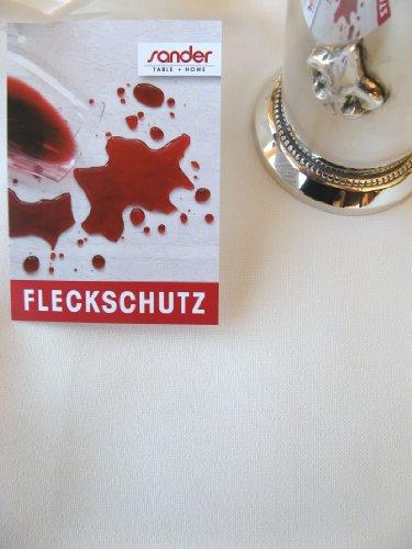 Sander 56014 Tischdecke 150x200 GALA Fb.Ecru/Champagner (29) FLECKSCHUTZAUSRÜSTUNG