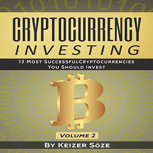 Cryptocurrency Investing audiobook cover art