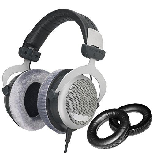 Beyerdynamic DT-880 Pro Headphones with Dekoni Audio Standard Replacement Ear Pad set