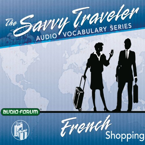 Savvy Traveler French Shopping Titelbild