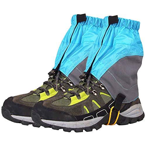 Roeam Outdoor Silicon beschichtetes Nylon Wasserdicht Ultraleicht Gamaschen Beinschutzbügel Wandern Klettern Trekking
