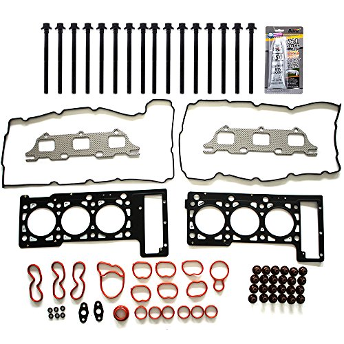 SCITOO Replacement for Head Gasket Kits with Bolts for Chrysler Sebring Concorde 2.7L R, U, T 2001-2010 Engine Head Gaskets Set Kit