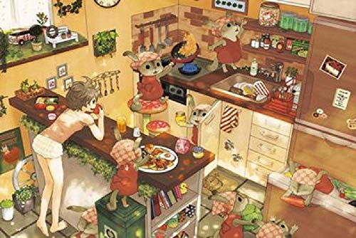 XDHYWS 500 Piece Jigsaw Puzzle, Vibrant Artwork, Perfect for Family Fun-Kitchen Food