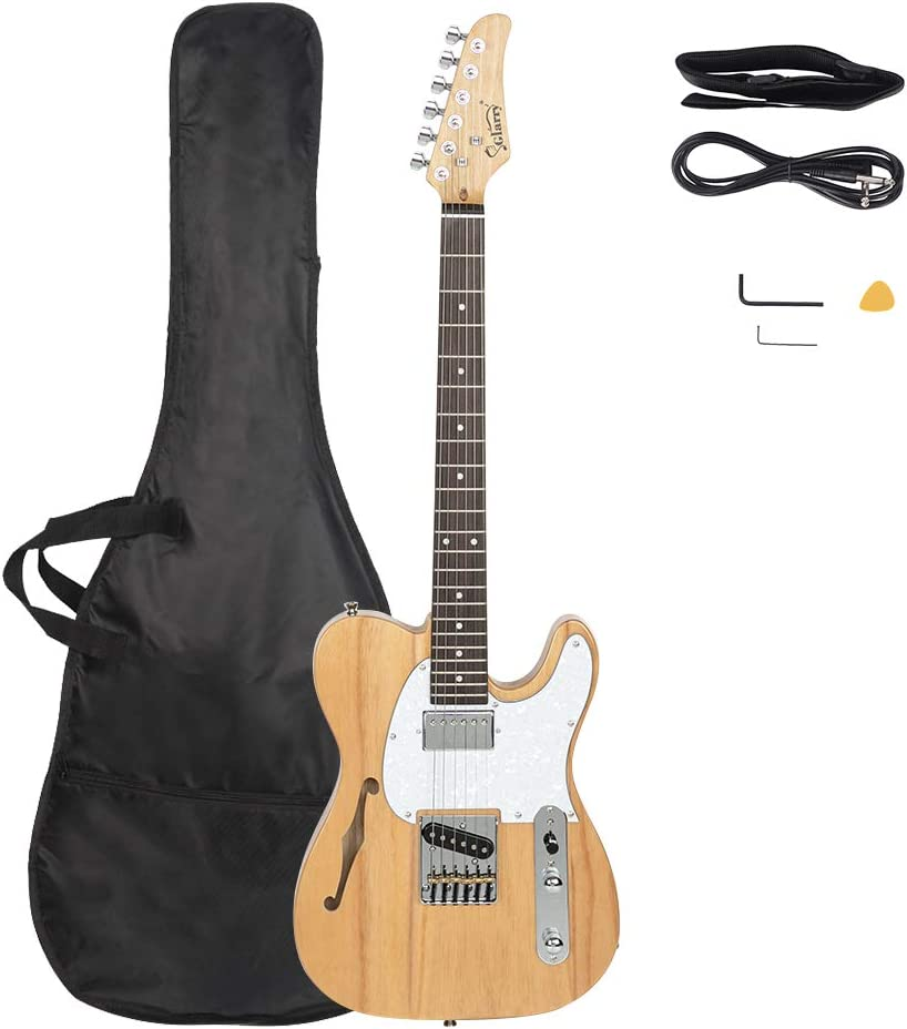 Bysesion Louisville-Jefferson County Mall Semi-Hollow Electric Guitar F Rosewood Louisville-Jefferson County Mall HS Hole Pickups