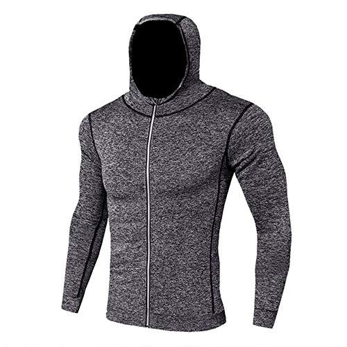 Sudadera deportiva con capucha para hombre con capucha para entrenamiento de gimnasio, ropa deportiva para hombre