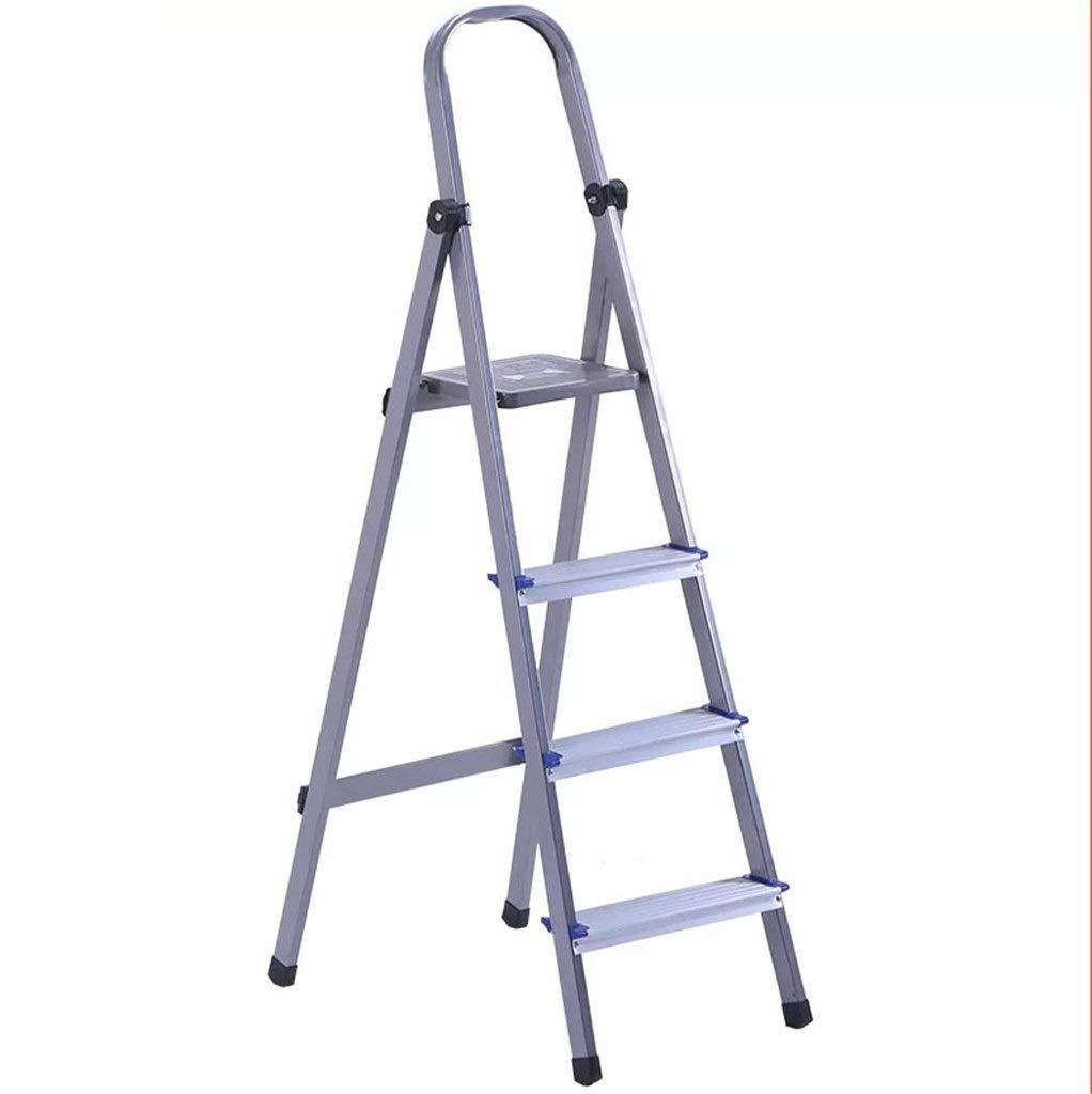 Escenas múltiples Las escaleras de mano Escalada de cocina, cuatro pasos Escalera de Aluminio/seguro y estable Escalera del taburete/marco de la escalera al aire libre/Escalera for el mercado de: Amazon.es: Bricolaje y