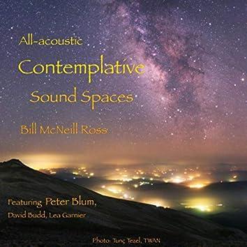 All-Acoustic Contemplative Sound Spaces