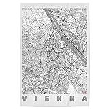 artboxONE Poster 30x20 cm Städte Vienna, Österreich