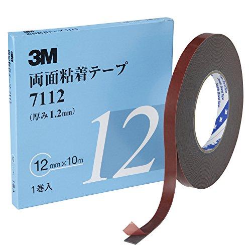 3M 両面粘着テープ 7112 12mm幅x10m 7112 12 AAD