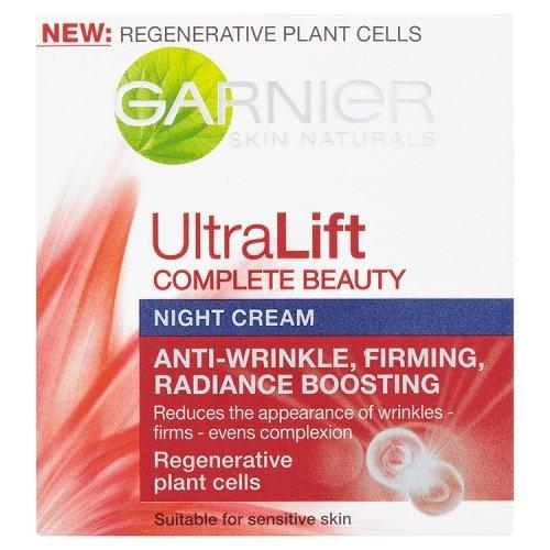 Garnier Skin Naturals Ultra Lift Reafirmante Anti-Arrugas Crema de Noche