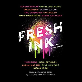 Fresh Ink     An Anthology              By:                                                                                                                                 Lamar Giles                               Narrated by:                                                                                                                                 Guy Lockard,                                                                                        Kim Mai Guest,                                                                                        Bahni Turpin,                   and others                 Length: 5 hrs and 4 mins     2 ratings     Overall 4.0
