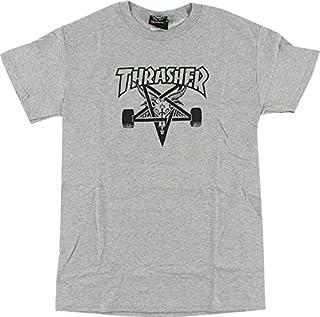 Thrasher Magazine sk8goatグレーメンズ半袖Tシャツ?–?XL
