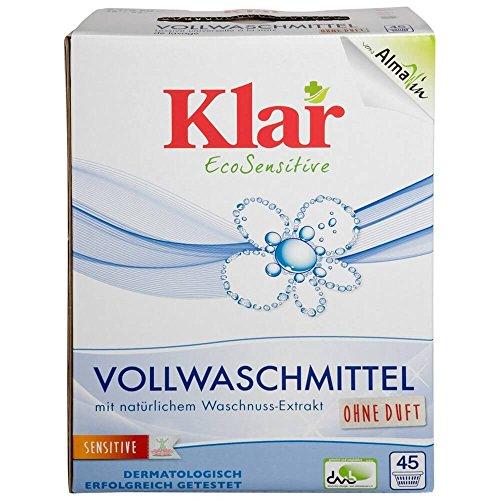 Klar Bio Vollwaschmittel Pulver (1 x 2,48 kg)
