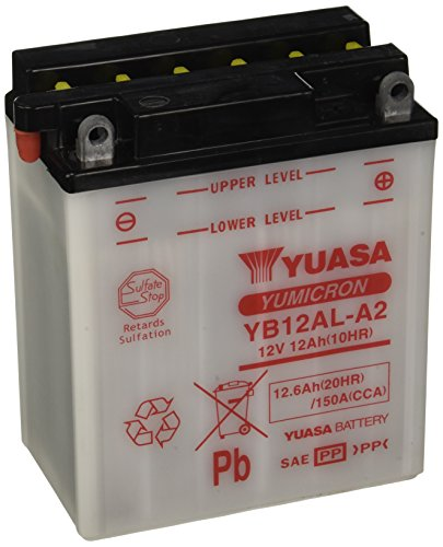 YUASA BATTERIE YB12AL-A2 aperto senza acido