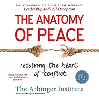 The Anatomy of Peace, Expanded Second Edition audiobook cover art