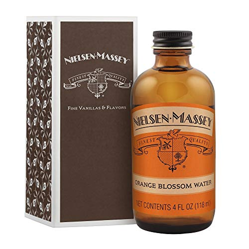 Nielsen-Massey Orange Blossom Water, with Gift Box, 4 ounces