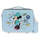 Disney Enjoy Minnie Icon Nececer Adaptable Azul 29x21x15 cms ABS