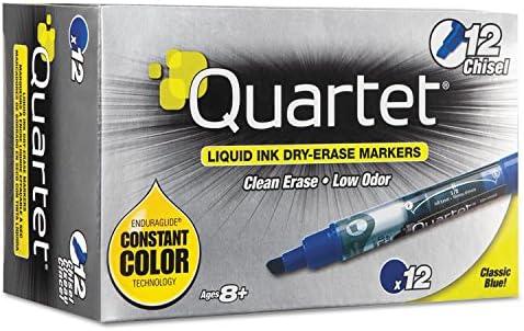 half Quartet 2021 autumn and winter new EnduraGlide Dry Erase Marker Chisel Tip Dozen Blue