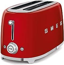 SMEG 4 slice toaster, 50's Retro style, Aesthetic TSF02RDUK