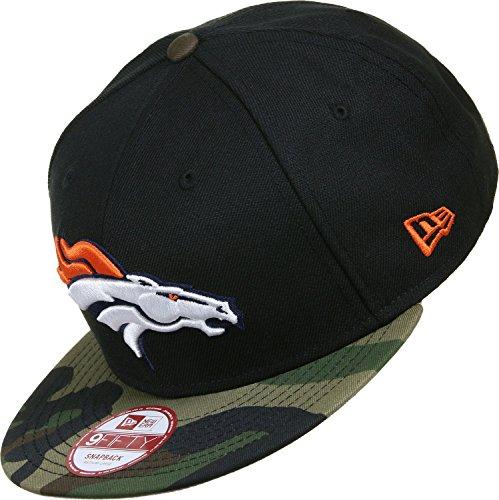 New Era NFL Camo Visor Denver Broncos Snapback S/M black