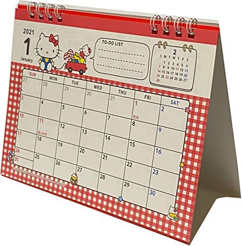 たんぽぽ ハローキティ デスクリング 日本カレンダー