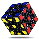 WANBY Turns Quicker Magic Combination 3D Puzzle Gear Cube 3x3 Match-specific Speed Gear Cube Stickerless Smooth Twisty Puzzle