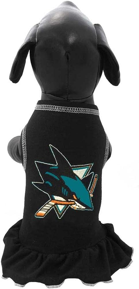 All Star Dogs NHL Unisex NHL San Jose Sharks Dog Cheerleader Dress