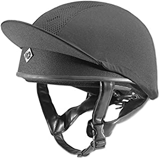 Charles Owen Pro 2 Skull Caps - All Colours Black 2 1/2 - 58 by Charles Owen
