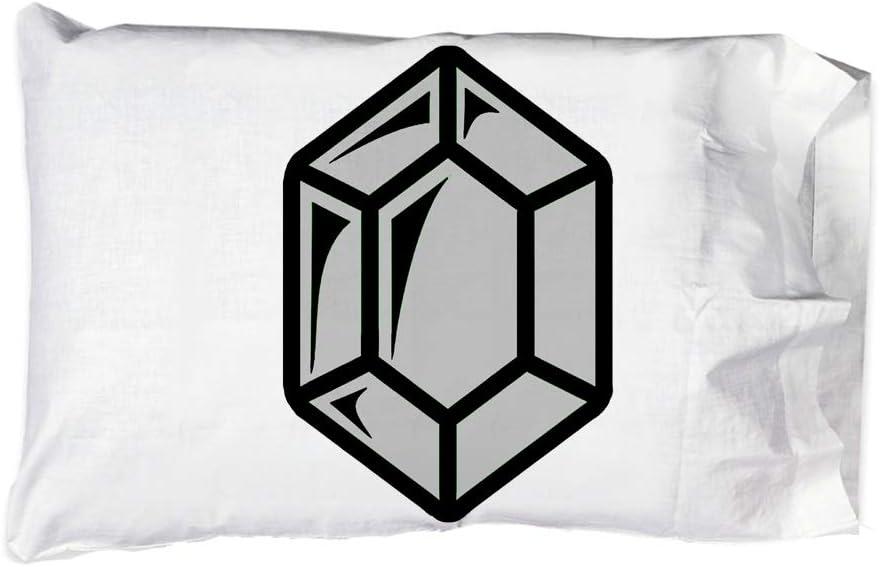 Hat Shark Pillow Case Great interest Single Pillowcase - Superlatite Game Curre Gem Fantasy