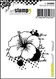 Carabelle Studio Hibiscus Cling Sello Mini, Caucho, 5.0x6.0x0.5 cm