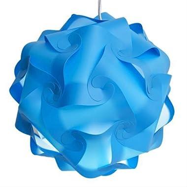 PMWLKJ Diy Moderne Éléments Créatifs IQ Puzzle Light Abat-jour Puzzle Pendentif Ball Abat-Jour Plafond Design Bar Décor Abat-