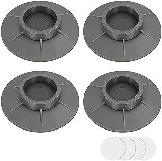 4 Pièces Patins Anti Vibrations pour Lave Linge, Amortisseur de Vibrations pour Lave Linge, Pieds de Machine à Laver, pour...