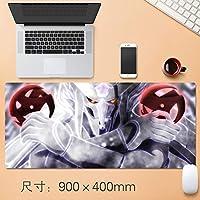 大型 NARUTO -ナルト- アニメ mouse pad マウスパッド ゲーミング マウスパッド 耐久性 滑り止め ゲームオフィステーブルマット 900x400x3mm