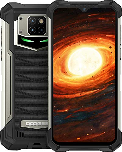 "Telephone Portable Incassable, DOOGEE S88 Pro Smartphone Incassable 4G, 10000 mAh,6.3""FHD,..."