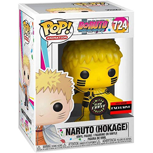 FreeStar Funko Pop Animtion : Naruto Boruto - Naruto Hokage Rikudousennin Modo (Exclusive) 3.75inch Vinyl Gift for Anime Fans Multicolur