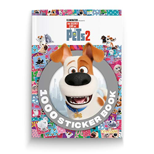 The Secret Life of Pets 2 -1000 Sticker Book