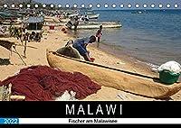 Malawisee Fischer (Tischkalender 2022 DIN A5 quer): Fischer am Malawisee (Monatskalender, 14 Seiten )