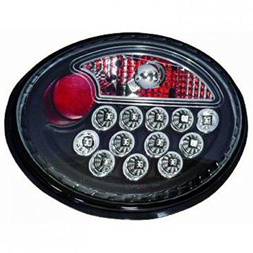 in. pro. 2265998 haute définition LED Feux arrière, Noir/Transparent