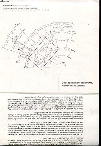 GLACIOLOGICAL MAP OF FILCHNER-RONNE-SCHELFEIS