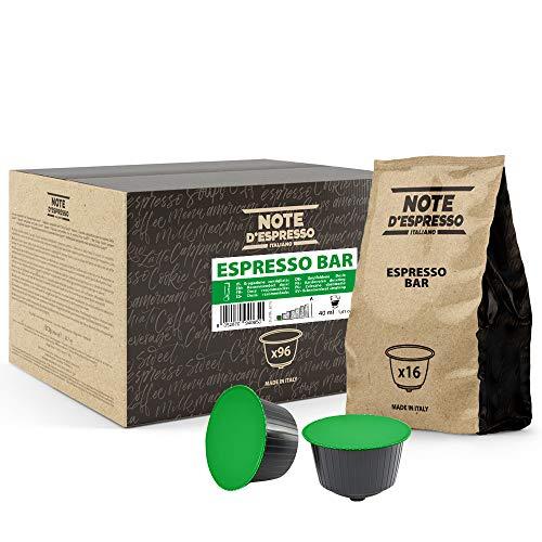 Note d Espresso - Espresso Bar - Cápsulas de Café compatibles con Cafeteras NESCAFE * DOLCE GUSTO* - 96 caps