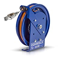 Coxreels SD-50 Spring Rewind Static Discharge Cable Reel: 50' cable by Coxreels