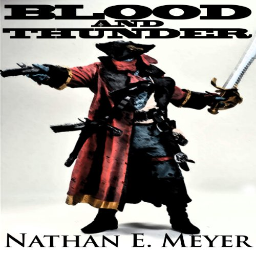 Blood and Thunder audiobook cover art