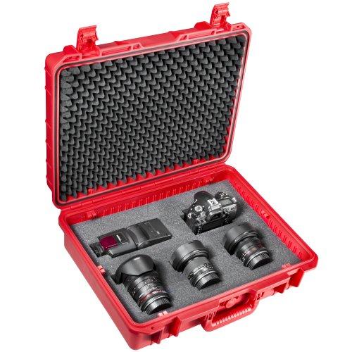 Mantona 18651 - Maletín de Exteriores para cámaras de Fotos (tamaño Grande,...