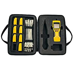Tests voice (RJ11/12), data (RJ45) and video (F-connector) coax connections Cut testing and identification time in half with 8 Test-n-Map Remotes that test, map and ID multiple cable runs in a single step Test for open, short, miswire or split-pair f...