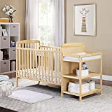 Suite Bebe Ramsey 3 in 1 Convertible Crib and Changer in a Natural Finish - Quick Ship