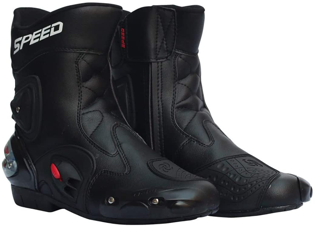 LKN Award Ankle Joint Protective Gear Shoes Translated Motorcycle Ridin Boots for