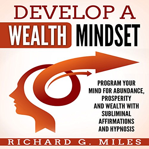 Develop a Wealth Mindset Program Your Mind for Abundance, Prosperity and Wealth with Subliminal Affirmations and Hypnosis audiobook cover art
