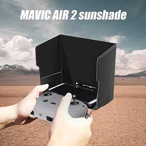 DJFEI Sonnenhaube für DJI Mavic Air 2 Fernbedienung, Monitor Sunshine Sun Hood Schutzhülle Kompatible mit DJI Mavic Air 2 Remote Controller, Schwarz